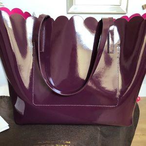 kate spade Bags - Kate Spade Burgundy Tote